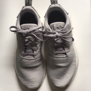 adidas Shoes - Women's Light Grey Adidas NMD Shoes